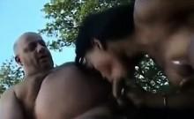 Ebony Hooker Having Sex With A Fat Guy