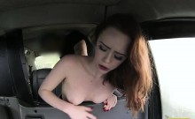 Blonde sexy Bitch gets fucked by her cab driver
