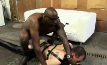 Slut Bottom Chris Takes A Black In The Ass