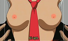 Hentai virgin school babe pussy nailed deep in close-up