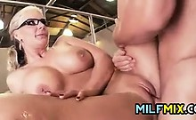 MILF Fucked At The Office
