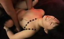 Sweet Asian Gets Anal Creampie